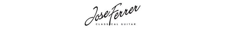 Jose Ferrer classical guitars