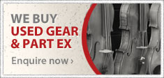We Buy Used Gear & Part Ex - Enquire Now