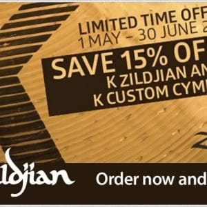 Zildjian promotion at Footes