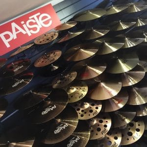 Paiste Cymbals at Footes
