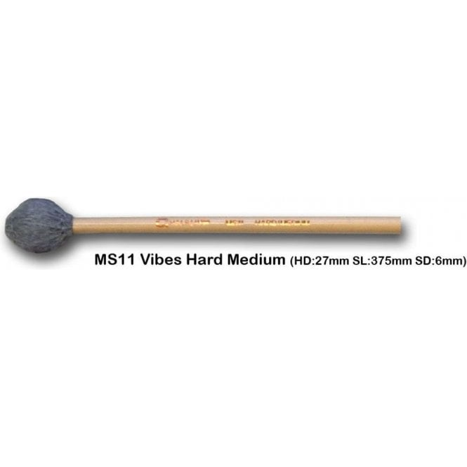 Chalklin 2 x pairs Chalklin MS11 Vibraphone Mallets - Hard Medium