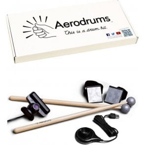 Aerodrums Silent Air-Drumming Instrument
