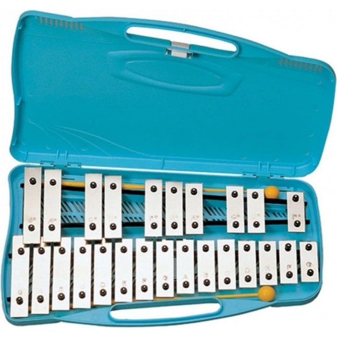 Angel Junior Glockenspiel 25 Note With Case And Beaters