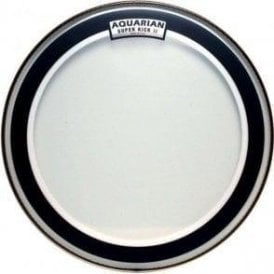Aquarian Clear Superkick 2 Bass Drum Heads