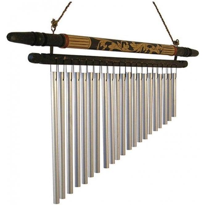 Siesta Bar Chimes - 21 Bars on Bamboo Frame