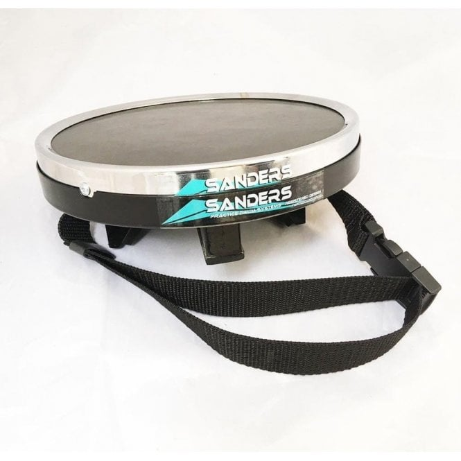 "Bill Sanders 7"" Strap On Knee Practice Pad (Pad & Pod)"