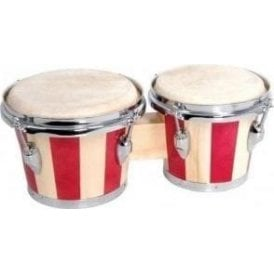 "Bongos - 6.5"" & 7.5"" Pair Including Tuning Key"