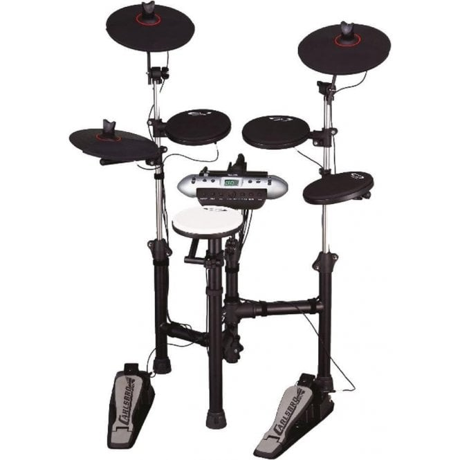 Carlsbro CSD120 Electronic Drum Kit & Extras Bundle