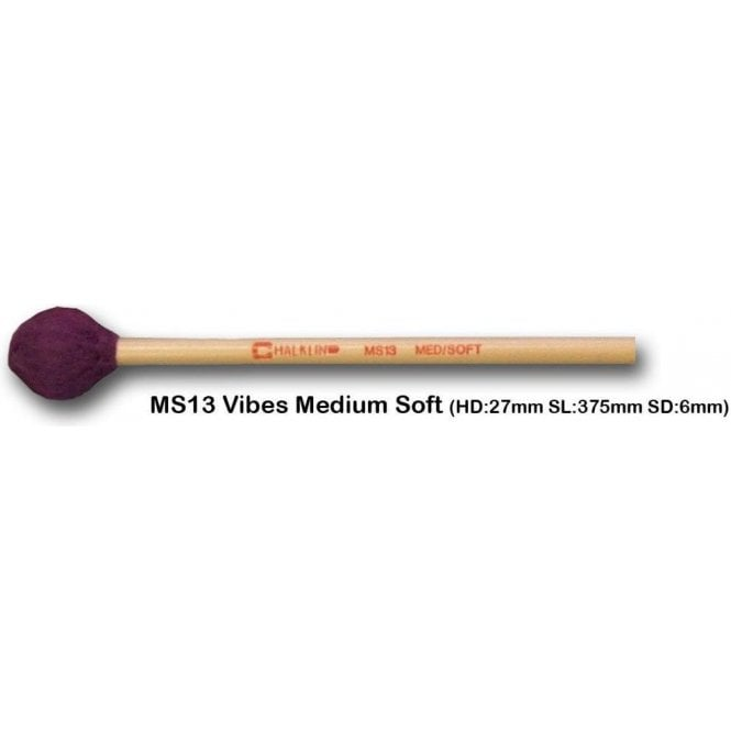 Chalklin MS13 Vibraphone Mallets - Medium Soft (pair)