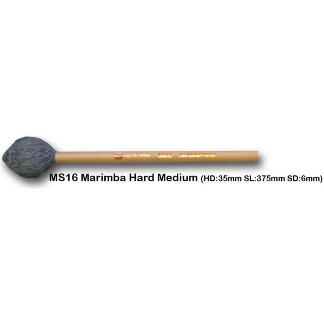 Chalklin MS16 Marimba Mallets - Hard Medium (pair)