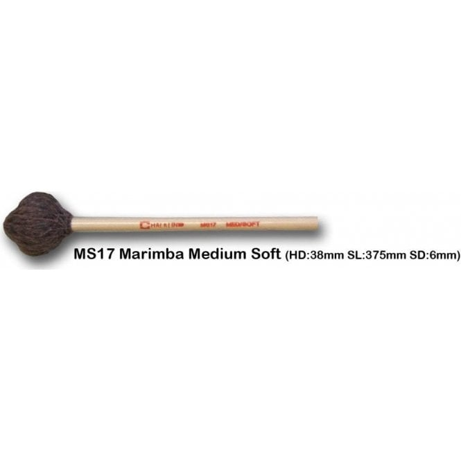 Chalklin MS17 Marimba Mallets - Medium (pair)