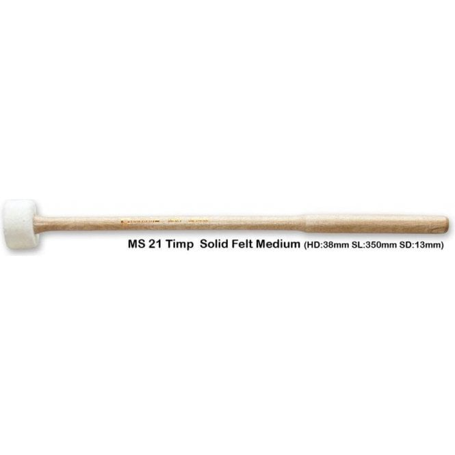 Chalklin MS21 Timpani Mallets - Solid Felt (pair)
