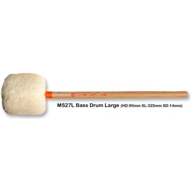 Chalklin MS27L Bass Drum Mallets - Large (pair)
