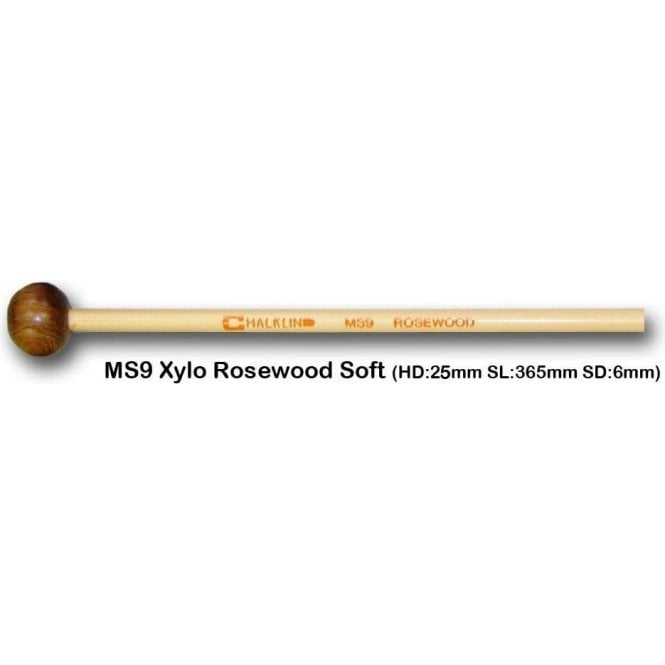 Chalklin MS9 Xylophone Mallets - Rosewood (pair)