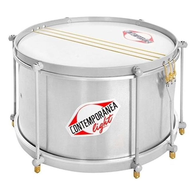 "Contemporanea Light 12"" Deep Caixa Snare"