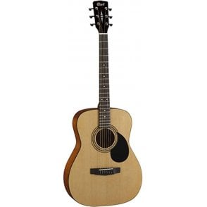 Cort Dreadnought Acoustic Guitar - Natural Satin Finish With Gig Bag