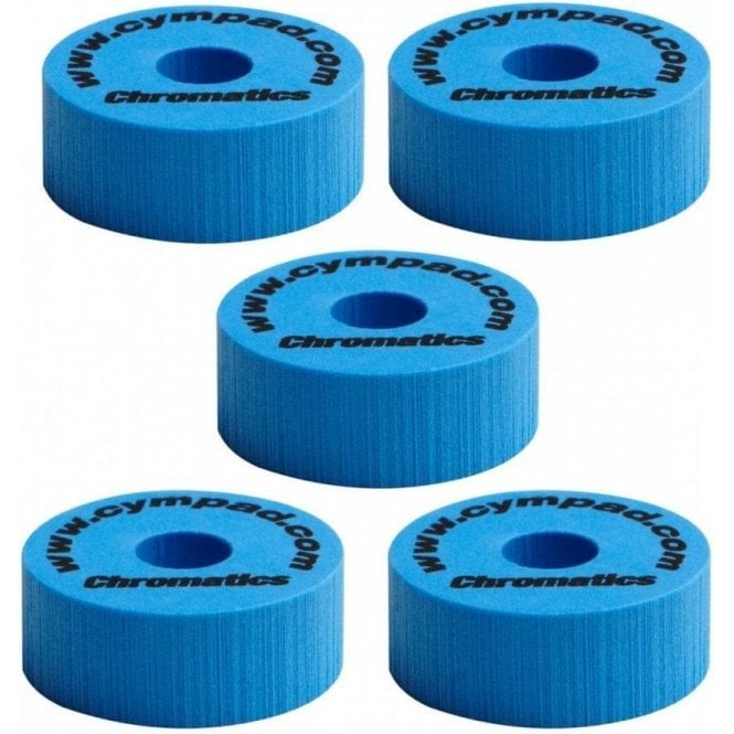 Cympad Chromatics Set 40mm x 15mm (5 pack) - Blue