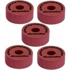 Cympad Chromatics Set 40mm x 15mm (5 pack) - Crimson