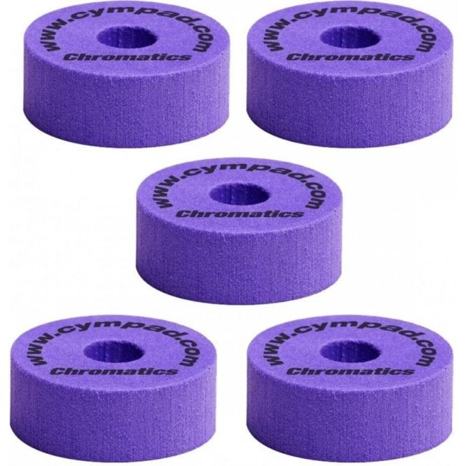 Cympad Chromatics Set 40mm x 15mm (5 pack) - Purple