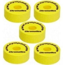 Cympad Chromatics Set 40mm x 15mm (5 pack) - Yellow