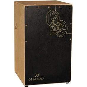 DG De Gregorio Cajon - Chanela - Black Finish
