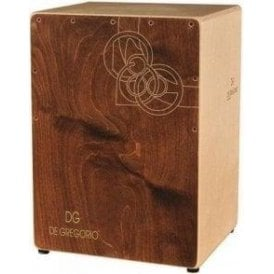 DG De Gregorio Cajon - Chanela - Brown Finish