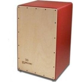 DG De Gregorio Cajon - Compass Red Finish