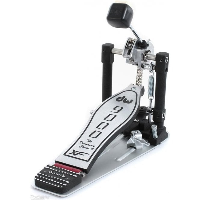 DW 9000XF Single Bass Drum Pedal - Extended Footboard