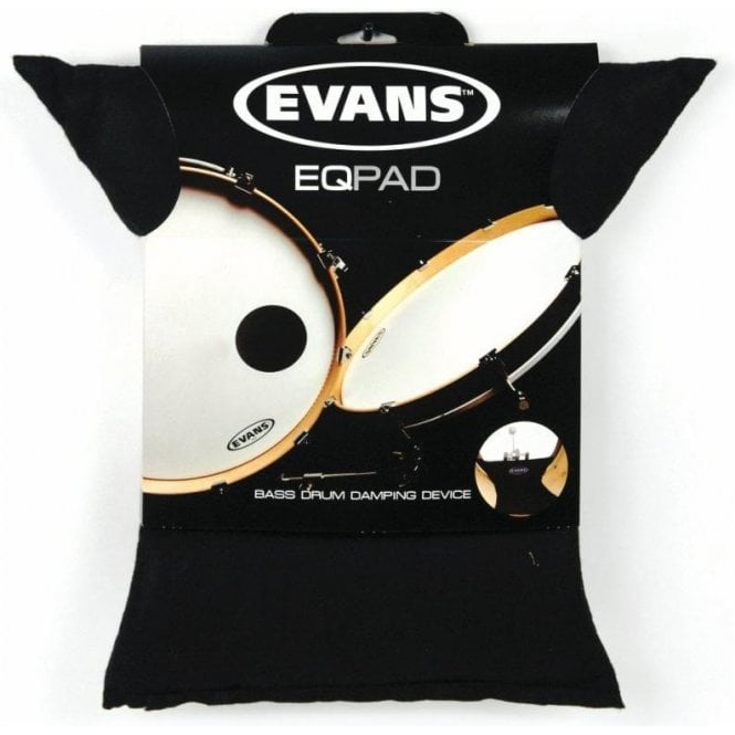 Evans EQ Bass Drum Muffler -  Damping Pillow ( Black )