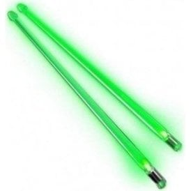 Firestix - Green (pair) Light Up Drums Sticks