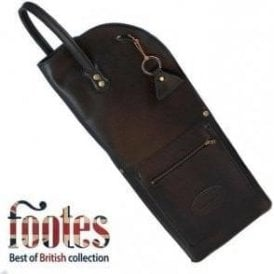 Footes Leather Drum Stick Case - Black