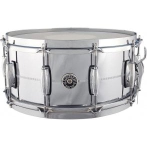 Gretsch 14 x 6.5 Chrome On Brass Snare Drum - USA GB4164 | Buy at Footesmusic