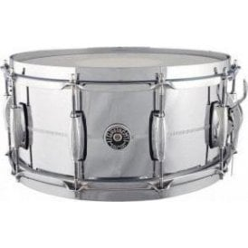 Gretsch 14 x 6.5 Chrome On Brass Snare Drum - USA