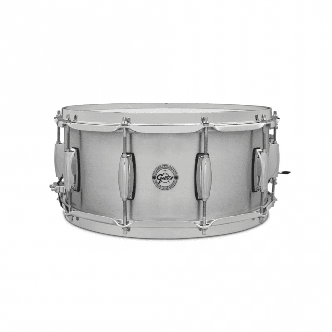 Gretsch 14 x 6.5 Grand Prix Aluminium Snare Drum S16514GP | Buy at Footesmusic
