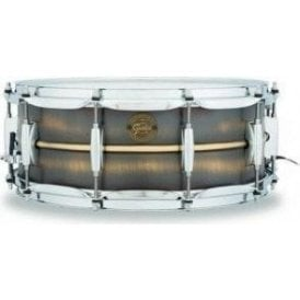 Gretsch 14x5.5 Brushed Brass Snare Drum