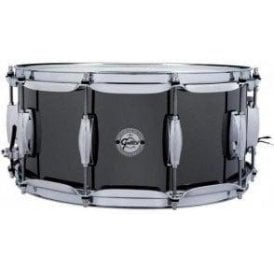 Gretsch 14x6.5 Black Nickel Finish Steel Snare Drum