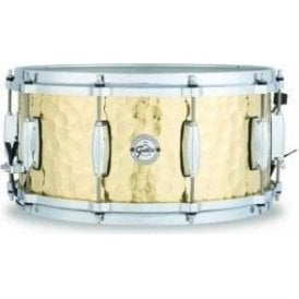 Gretsch 14x6.5 Hammered Brass Snare Drum