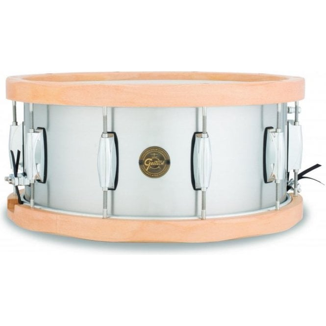 Gretsch Aluminium Snare Drum S16514AWH | Buy at Footesmusic