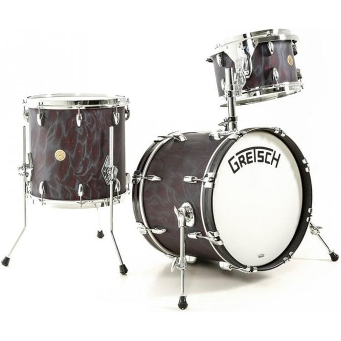 Gretsch Broadkaster 12/14/18 Black Satin Flame | Buy at Footesmusic