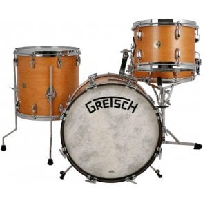 Gretsch Broadkaster 12/14/18 & Snare Drum Satin Classic Maple | Buy at Footesmusic