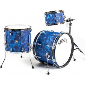 Gretsch Broadkaster 12/16/20 Satin Peacock Flame | Buy at Footesmusic