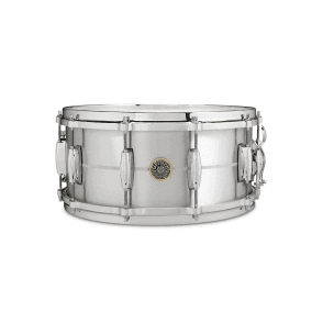 Gretsch USA 14x6.5 Solid Aluminium Snare Drum G4164SA | Buy at Footesmusic