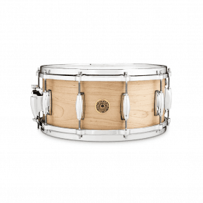 Gretsch USA 14x6.5 Solid Maple Snare Drum G56514SSM | Buy at Footesmusic
