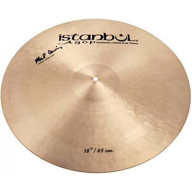 "Istanbul Agop Istanbul Mel Lewis 18"" Crash 1982 Cymbal IML18 