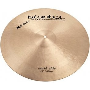 "Istanbul Mel Lewis 19"" Crash Ride Cymbal IML19 
