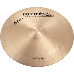 "Istanbul Mel Lewis 20"" Ride 1982 Cymbal IML20 
