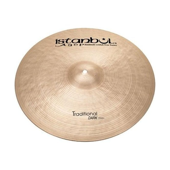 "Istanbul Agop Istanbul Traditional 14"" Dark Crash Cymbal IDC14 
