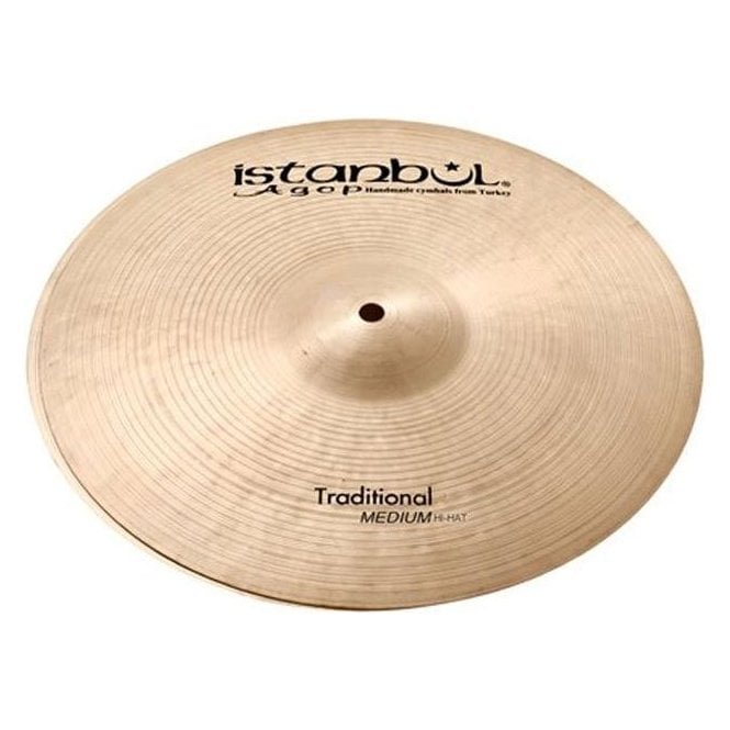 "Istanbul Agop Istanbul Traditional 15"" Light Hi Hat Cymbals ILH15 