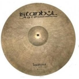 "Used Istanbul 20"" Traditional Ping Ride Cymbal"