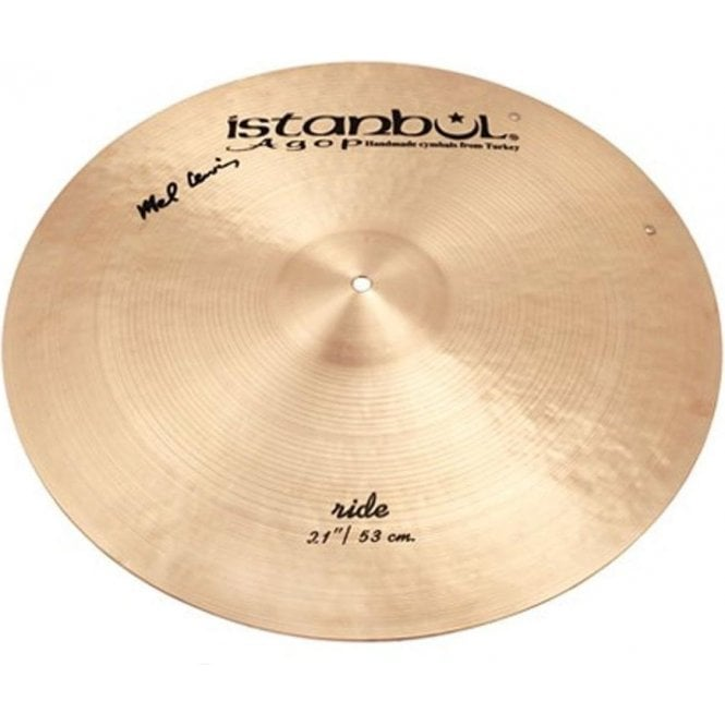 "Istanbul Agop Istanbul Mel Lewis 21"" Ride with rivets Cymbal"